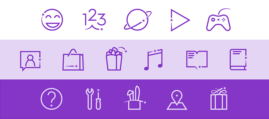 Hudl icons
