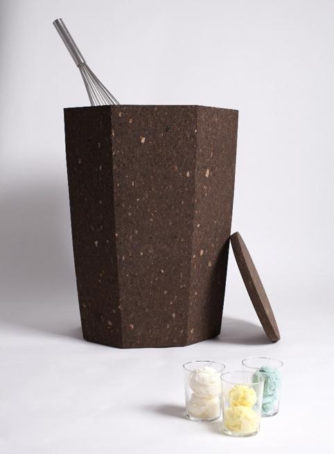 Jacopo Sarzi's ice-cream maker at Design Exquis