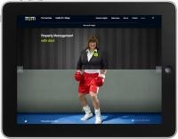 MJM iPad homepage