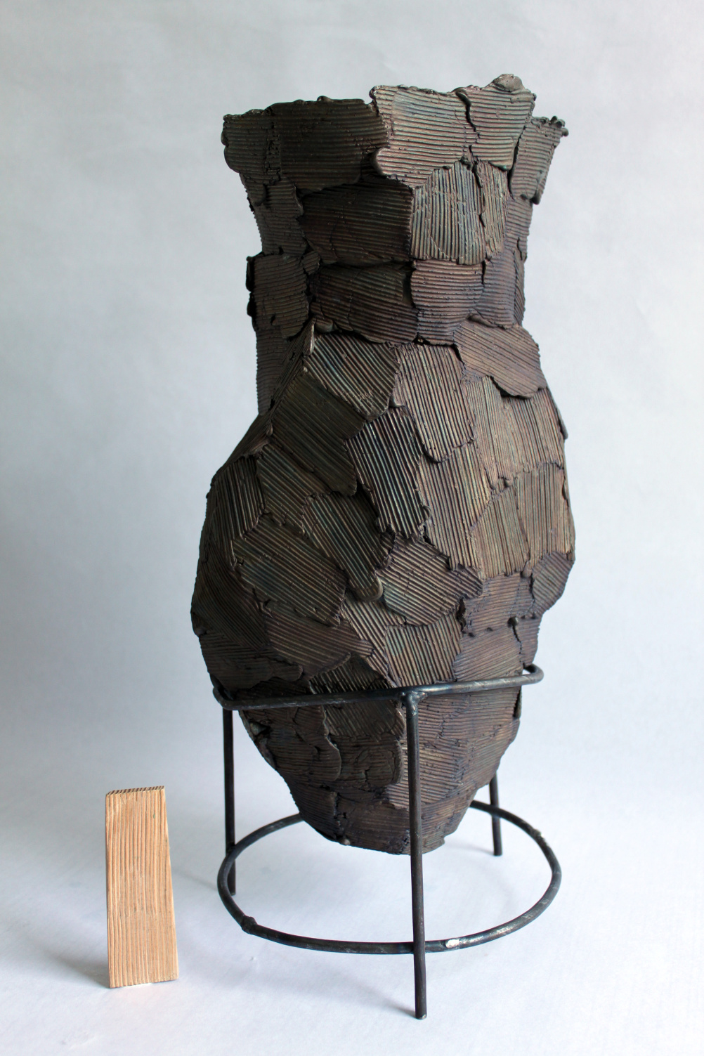 Wooden Vase B by Peter Marigold 2011
