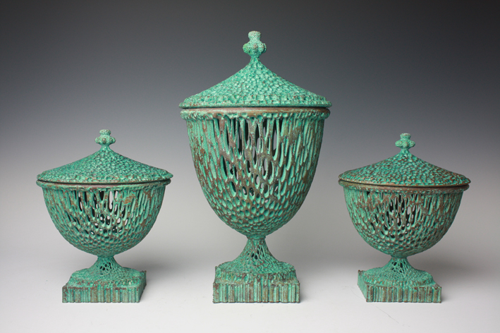 Wedgwoodn't Garniture, Michael Eden, 2012