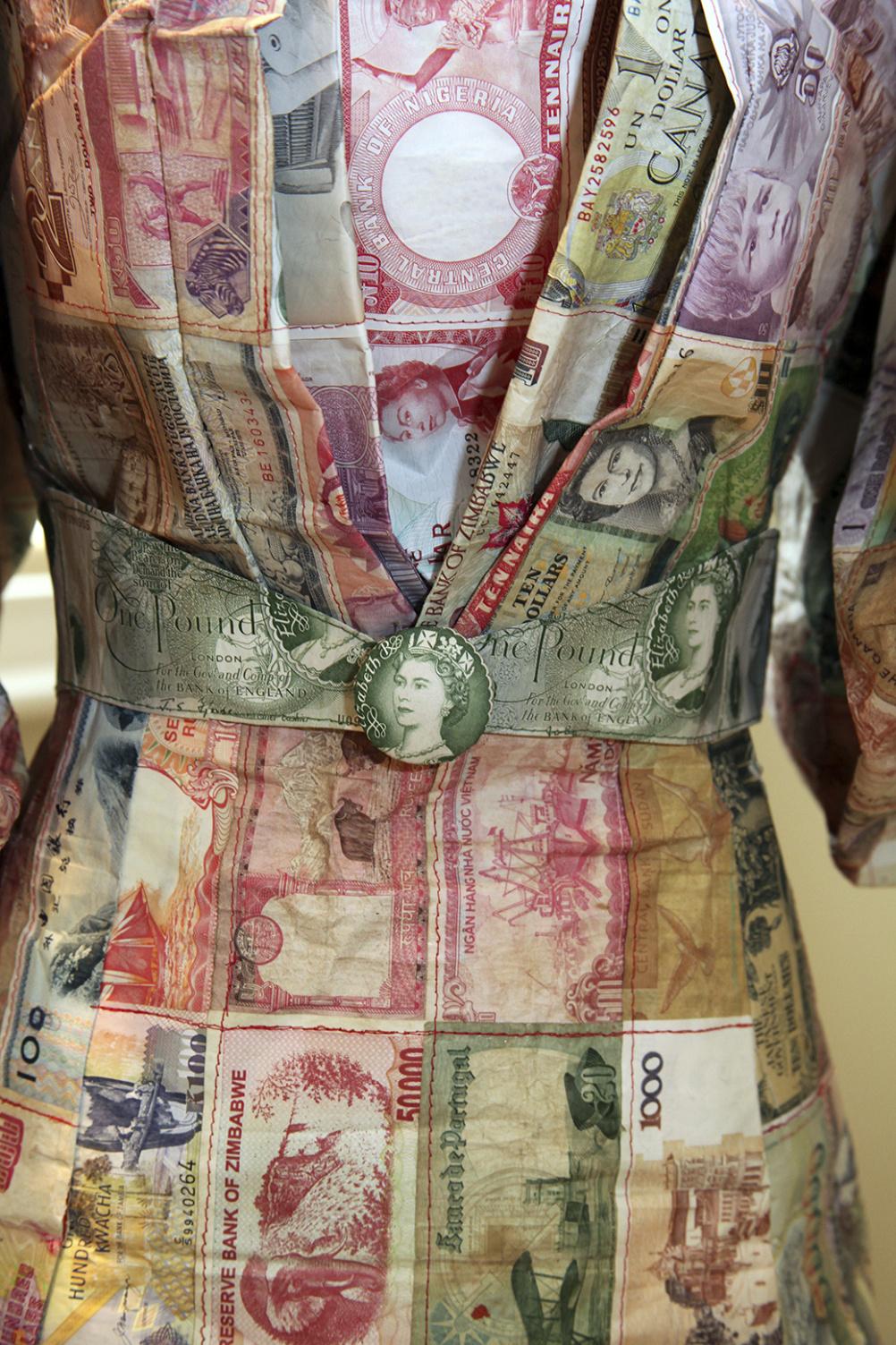 Money Dress, 2010, Susan Stockwell