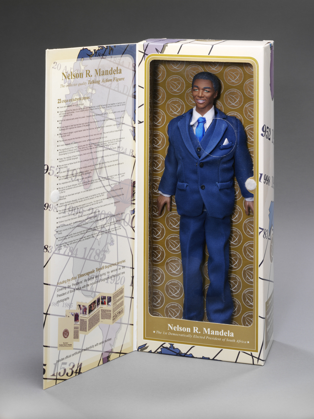 Nelson Mandela talking action figure