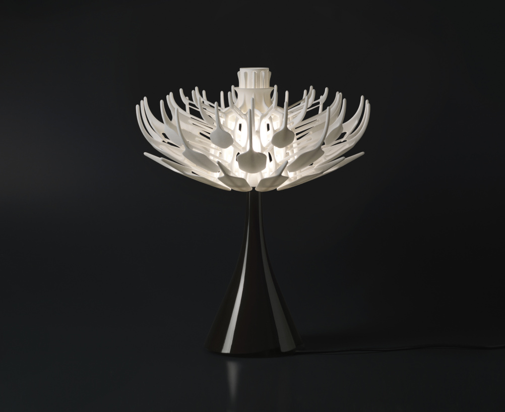 Bloom.MGX table lamp, Patrick Jouin for MGX, 2010.