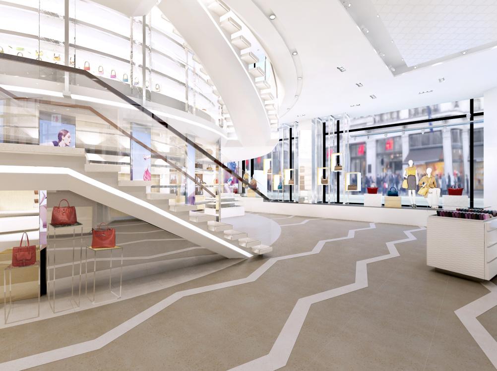 Regent Street store merchandise view