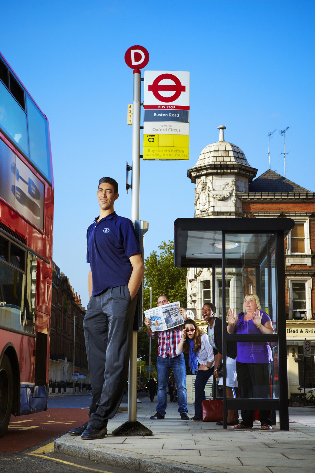 Sultan Kosen - the world's tallest living man