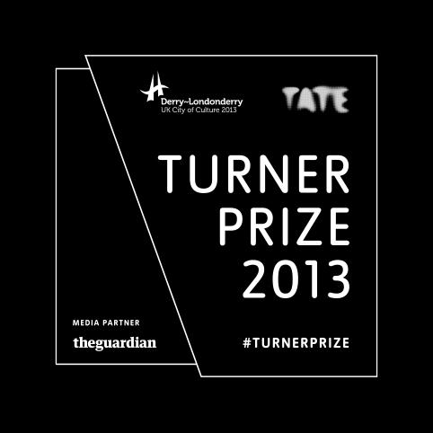 Turner Prize 2013 identity