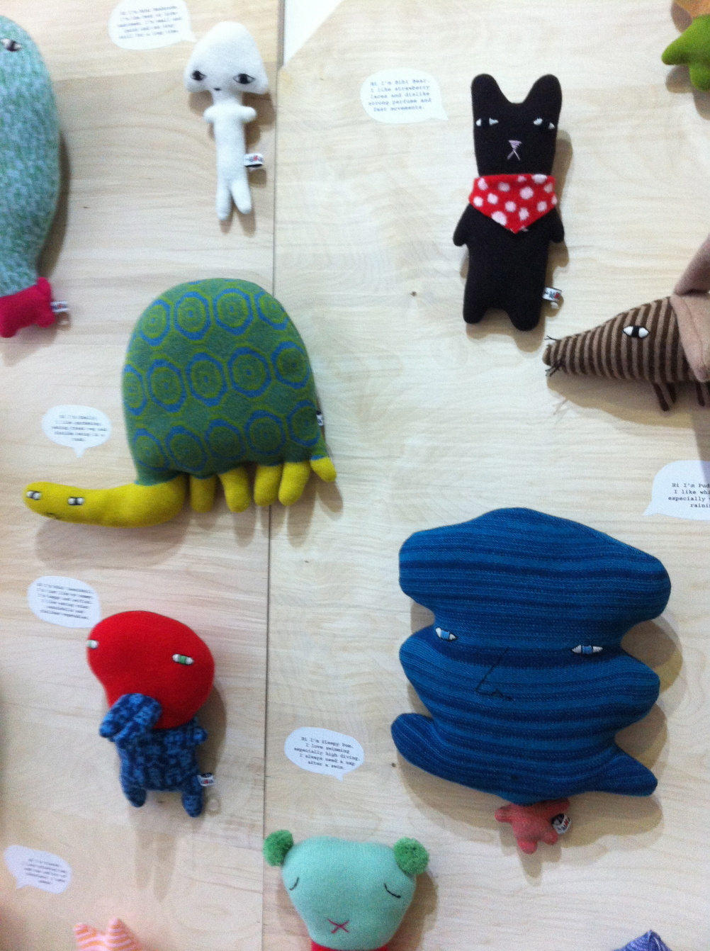 Knitted Creatures by Donna Wilson