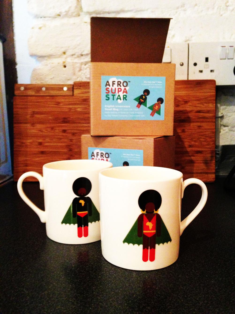 AfroSupaHero merchandise