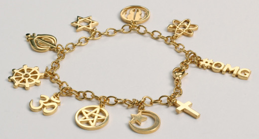 Charm bracelet designed and commissioned by NB Studio for Type Tasting at LDF