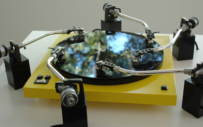 Yuri Suzuki Prepared Turntable