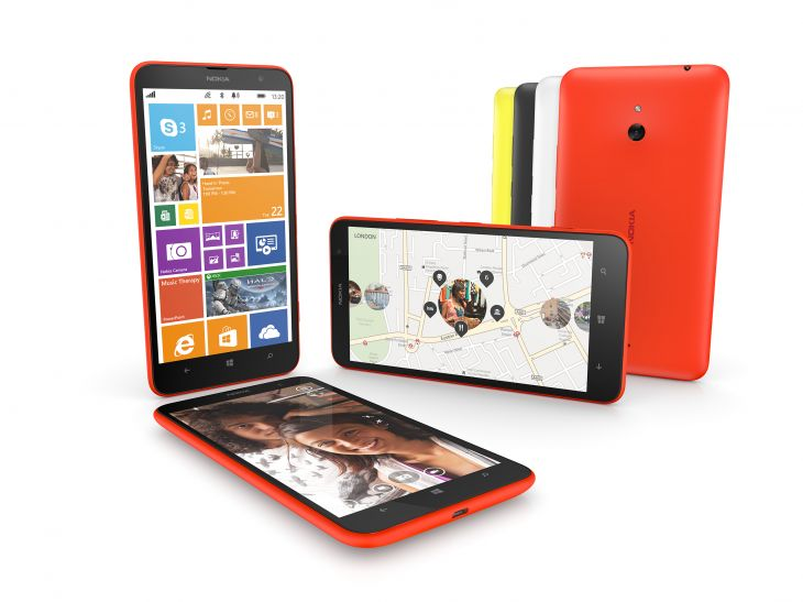 The Nokia Lumia 1320 'phablet'