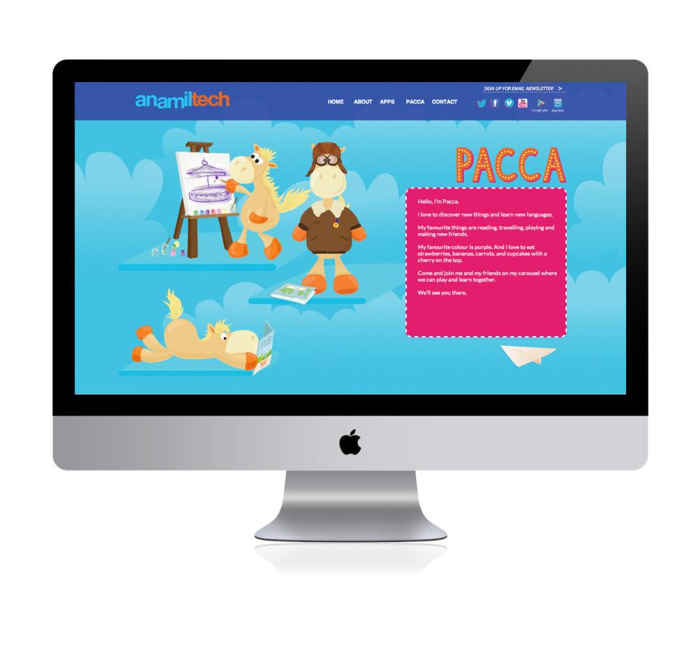 AnamilTech website
