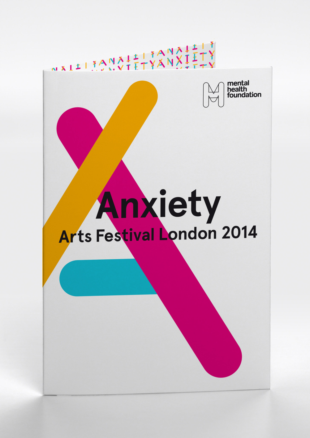 Anxiety Festival programme cover