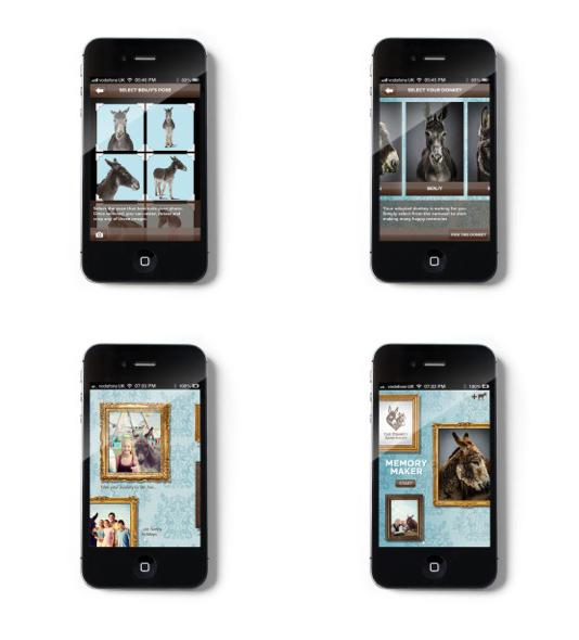 The Memory Maker app