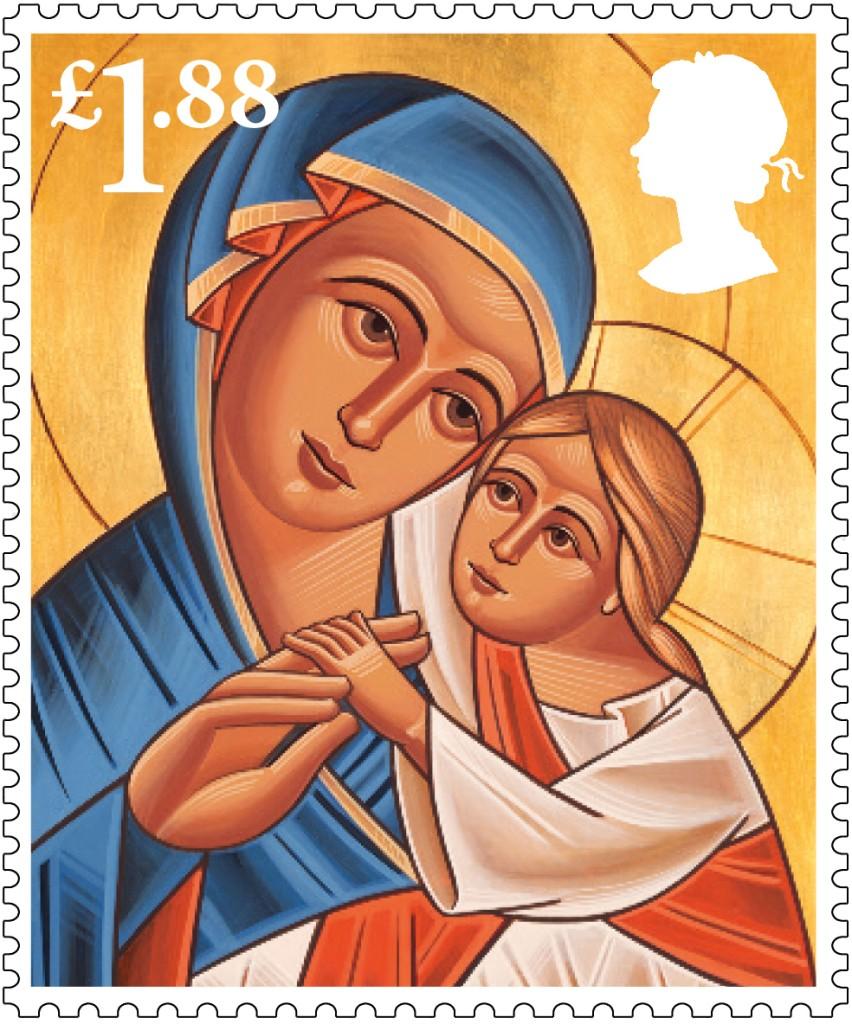 Christmas 2013 £1.88 stamp