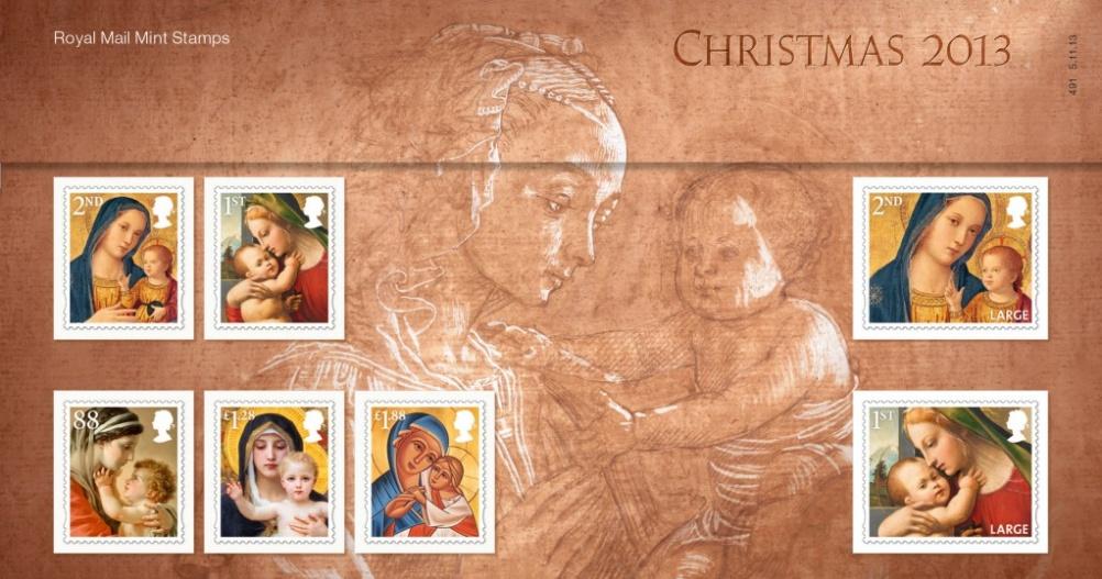 Christmas presentation pack closed