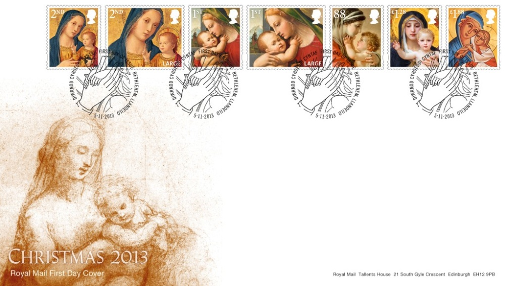 Christmas Stamps range
