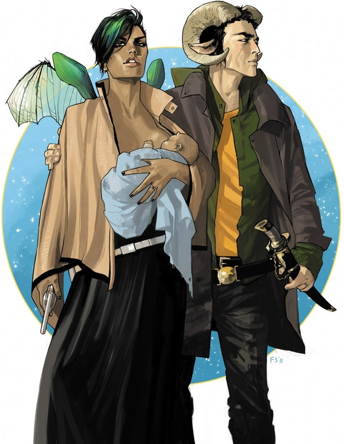 Fiona Staples, Saga