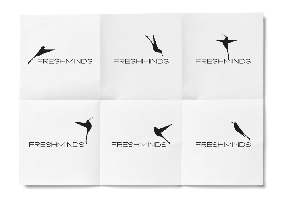 FreshMinds logo positions