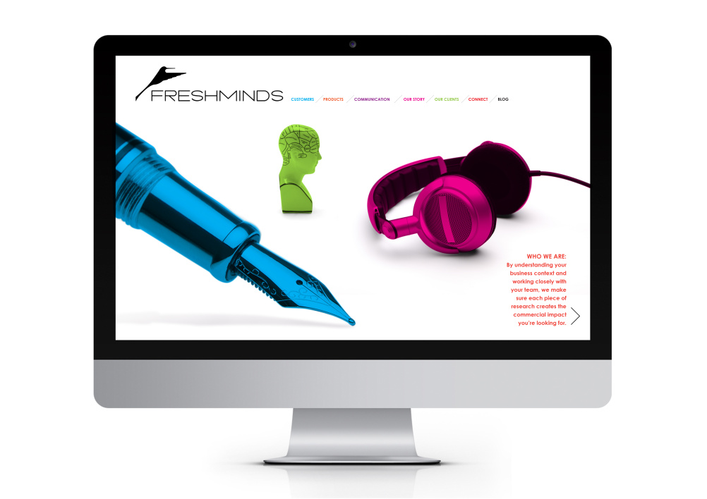 FreshMinds website