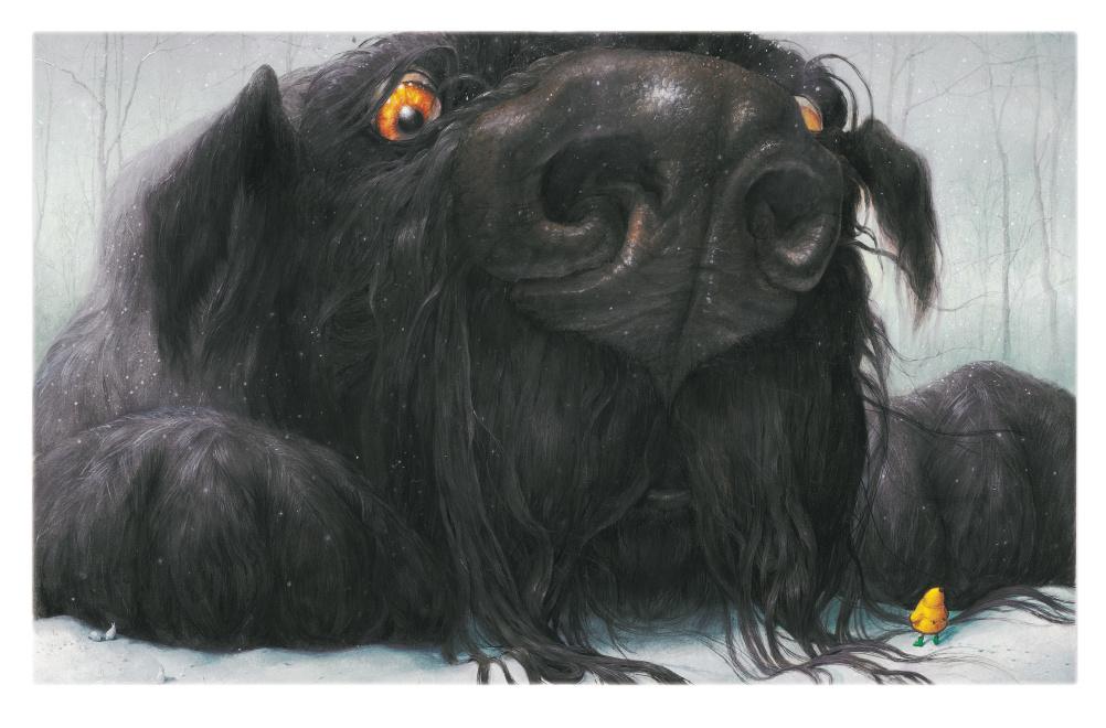 Levi Pinfold, Black Dog