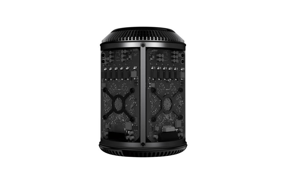 The Mac Pro with core exposed