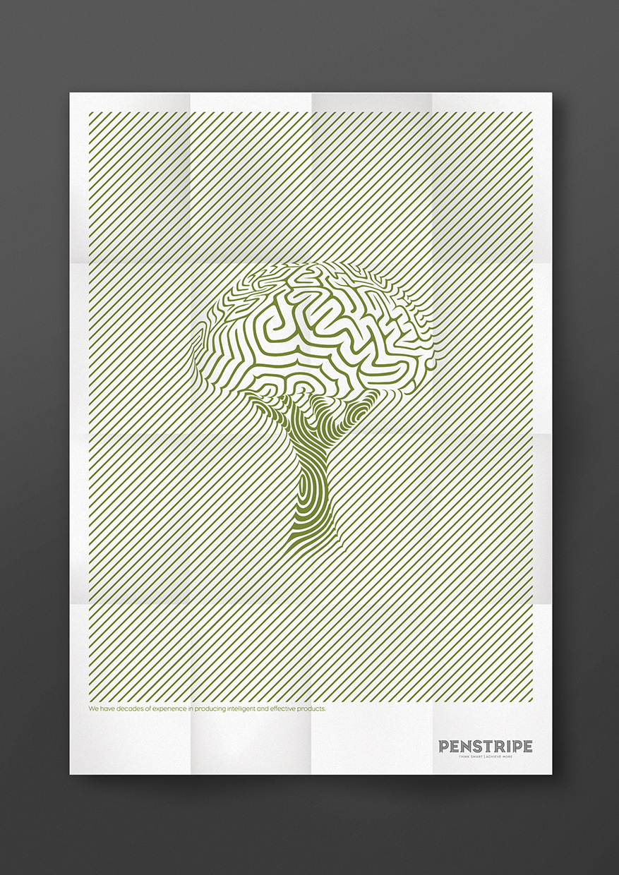 Tree and brain poster