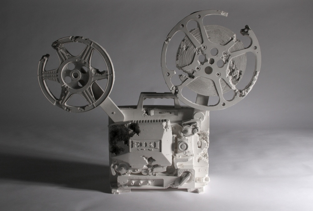 Daniel Arsham  Crystal Eroded 16mm Film Projector, 2013