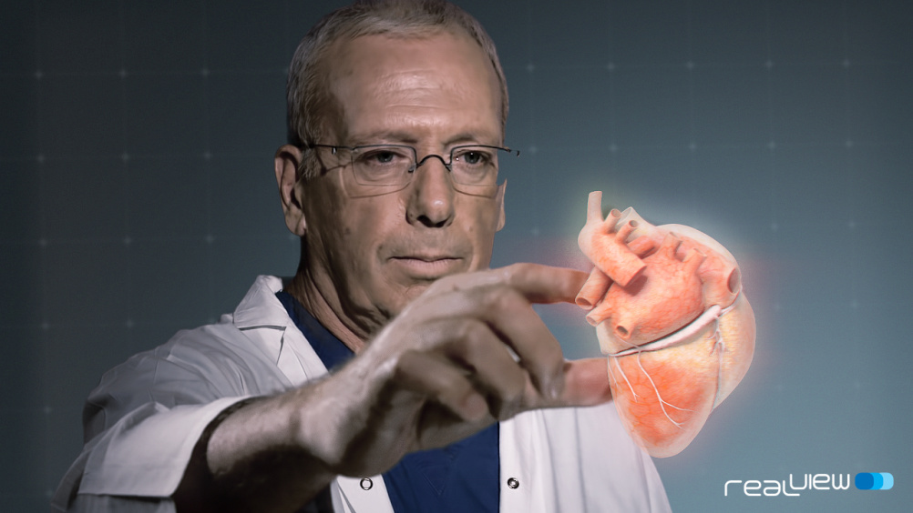 Holographic heart surgery