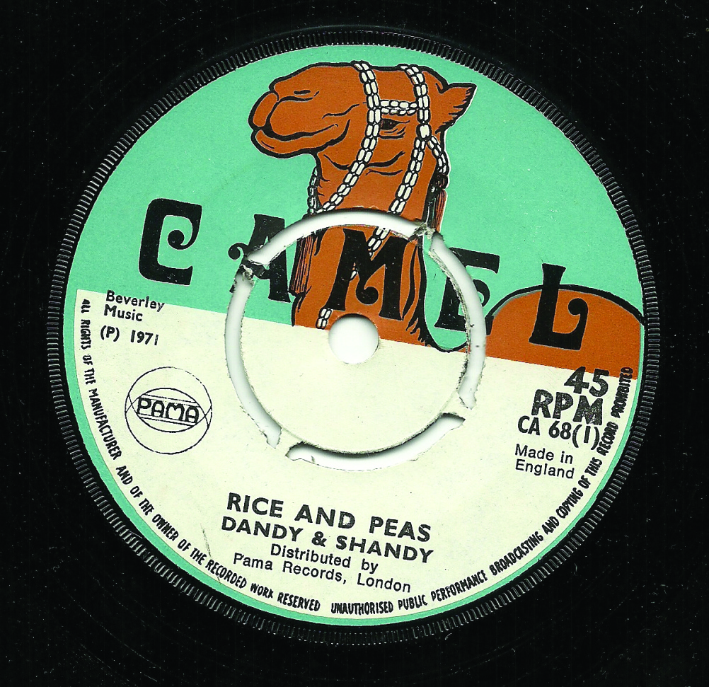 Rice and Peas, Dandy & Shandy record