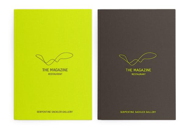 The Magazine identity