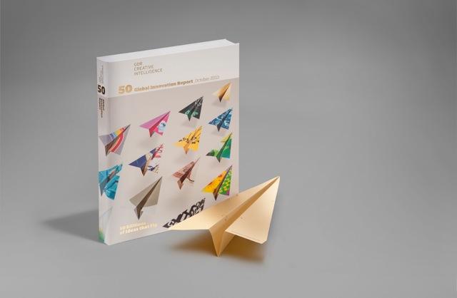 The report alongside a golden plane