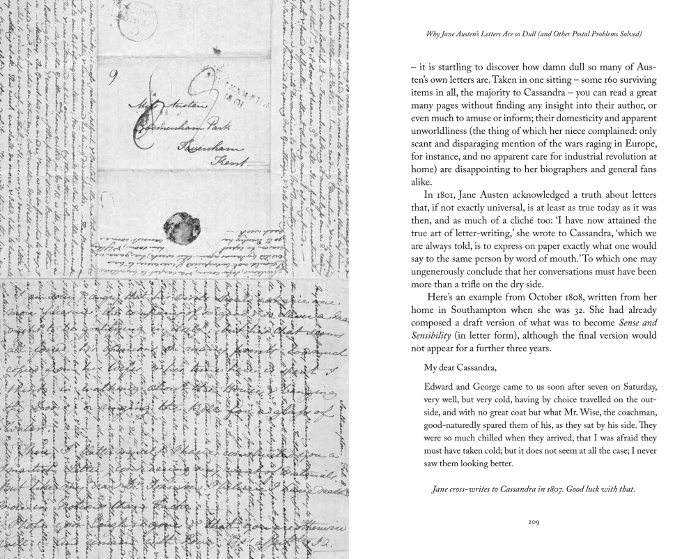 Why Jane Austen's Letters are so Dull