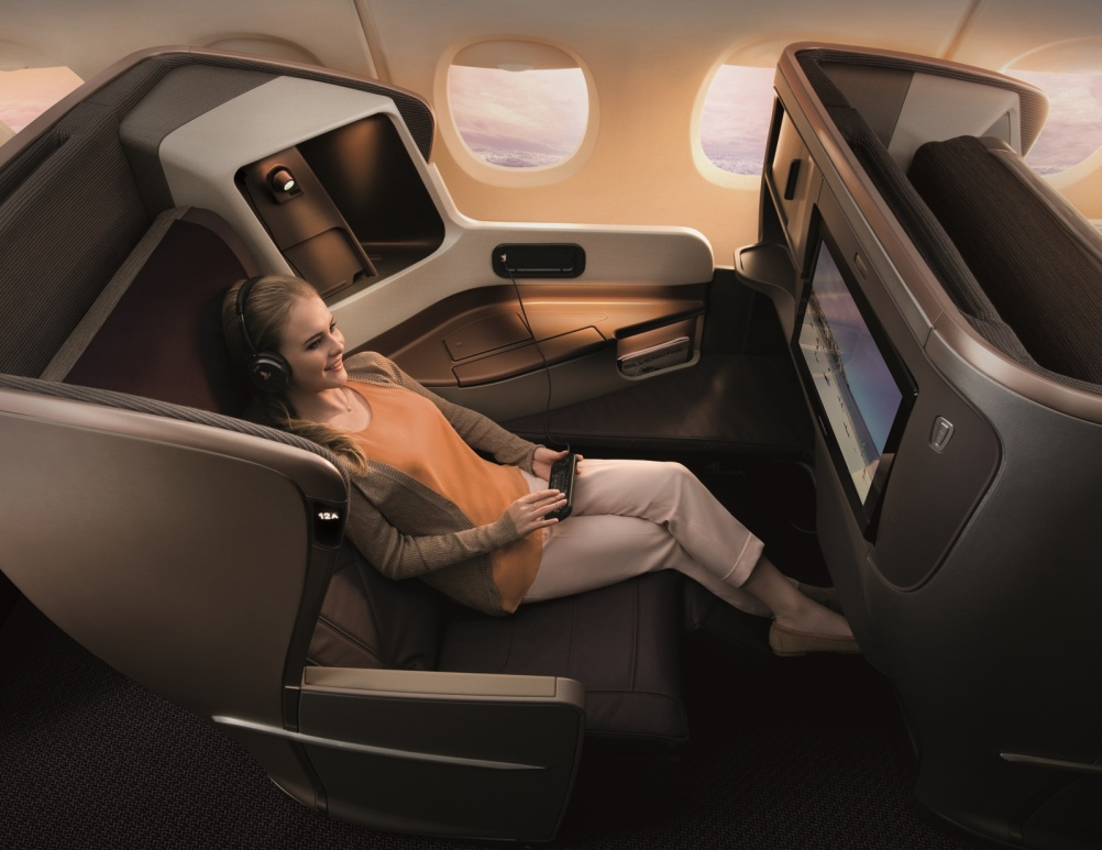 JPA-designed business class seat