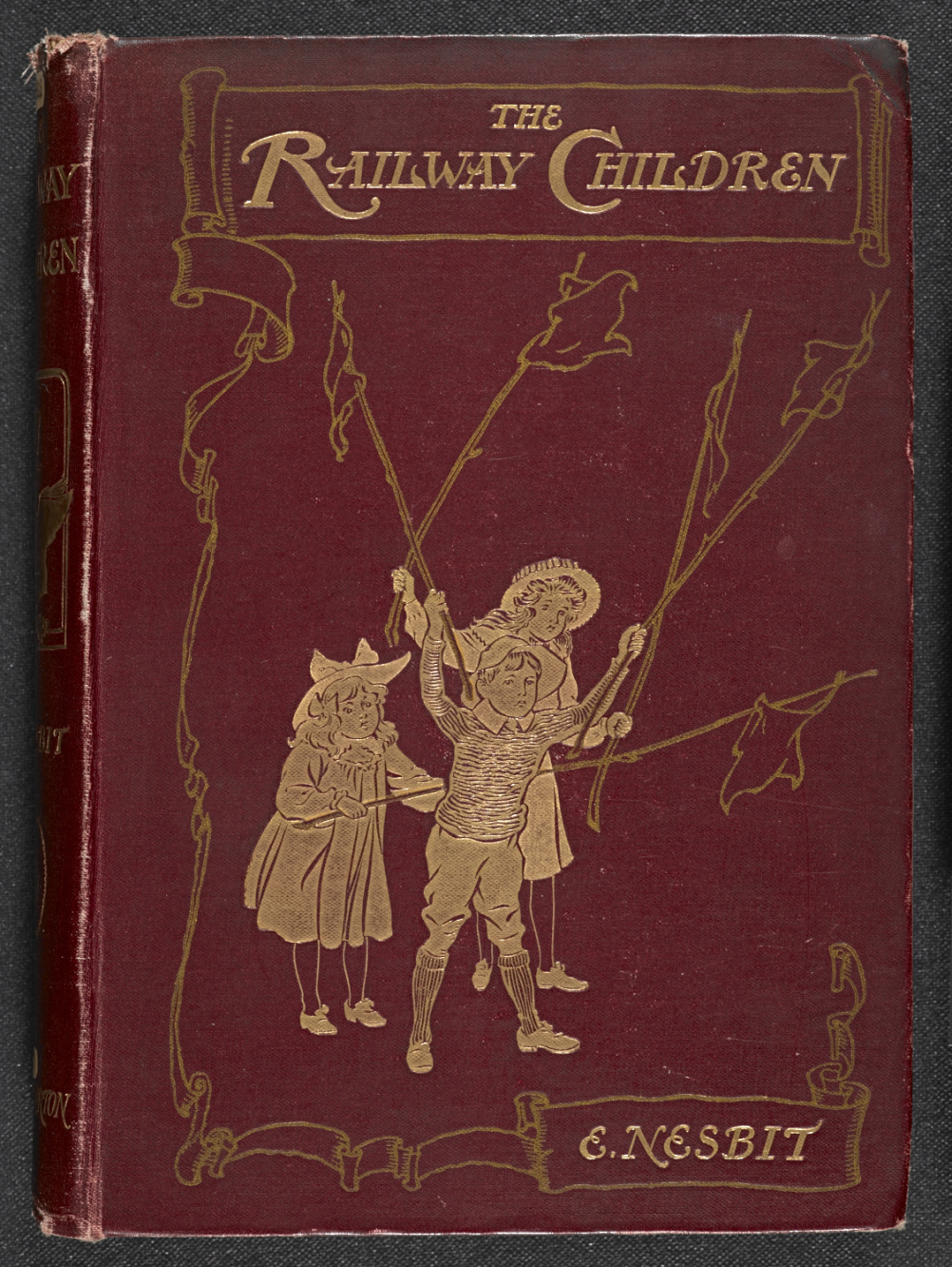 The Railway Children, first edition. Illustrations by C E Brack