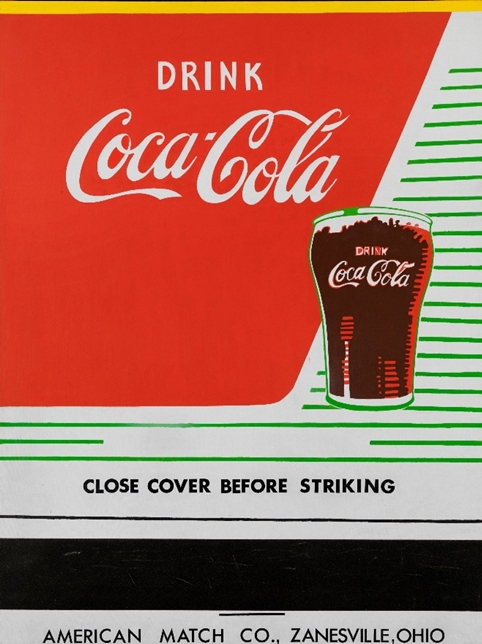 Andy Warhol, Close Cover Before Striking, 1962. Collection Louisiana Museum of Modern Art
