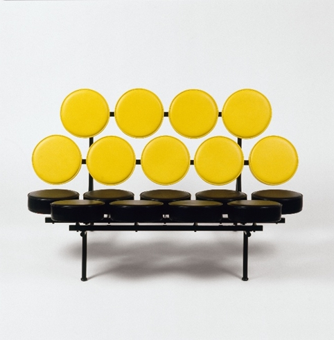 George Nelson Associates, Inc. (Irving Harper) Marshmallow, sofa, 1956
