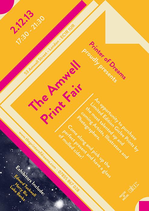 Amwell Print Fair Poster.