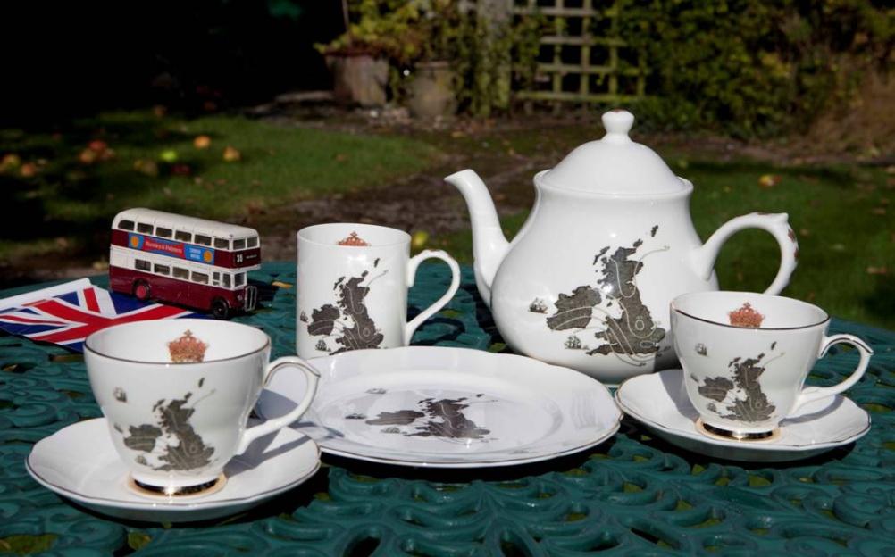 Ali Miller, Great Britain tea set