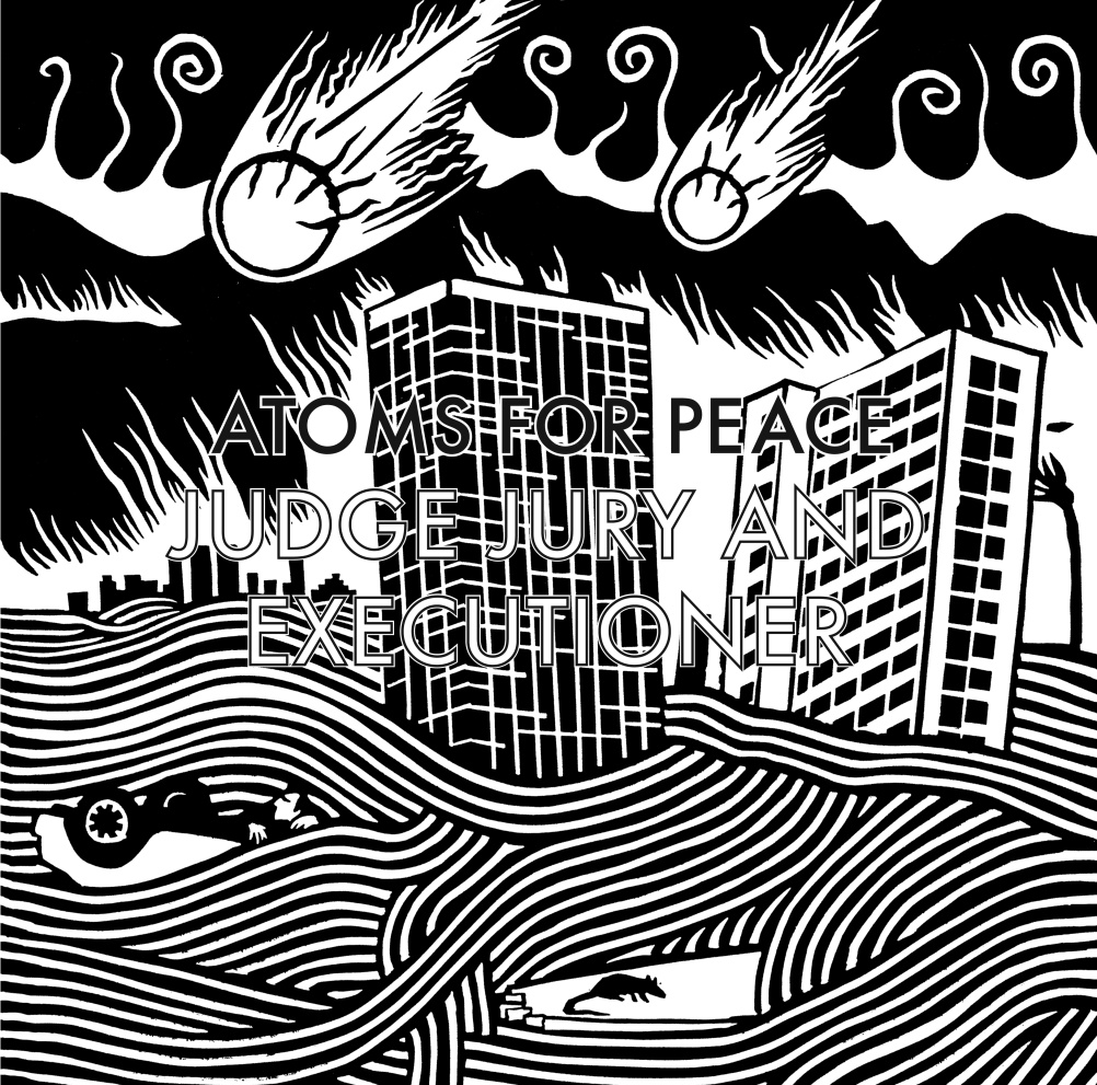 Atoms of Peace - Judge Jury and Executioner - Design by Stanley Donwood