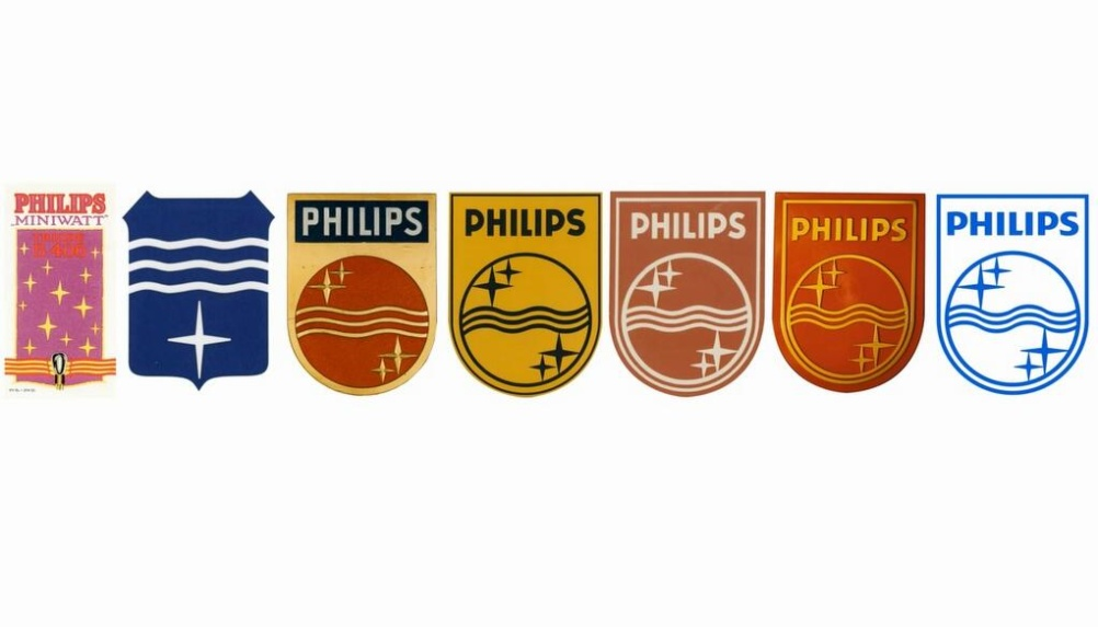 The evolution of the Philips shield