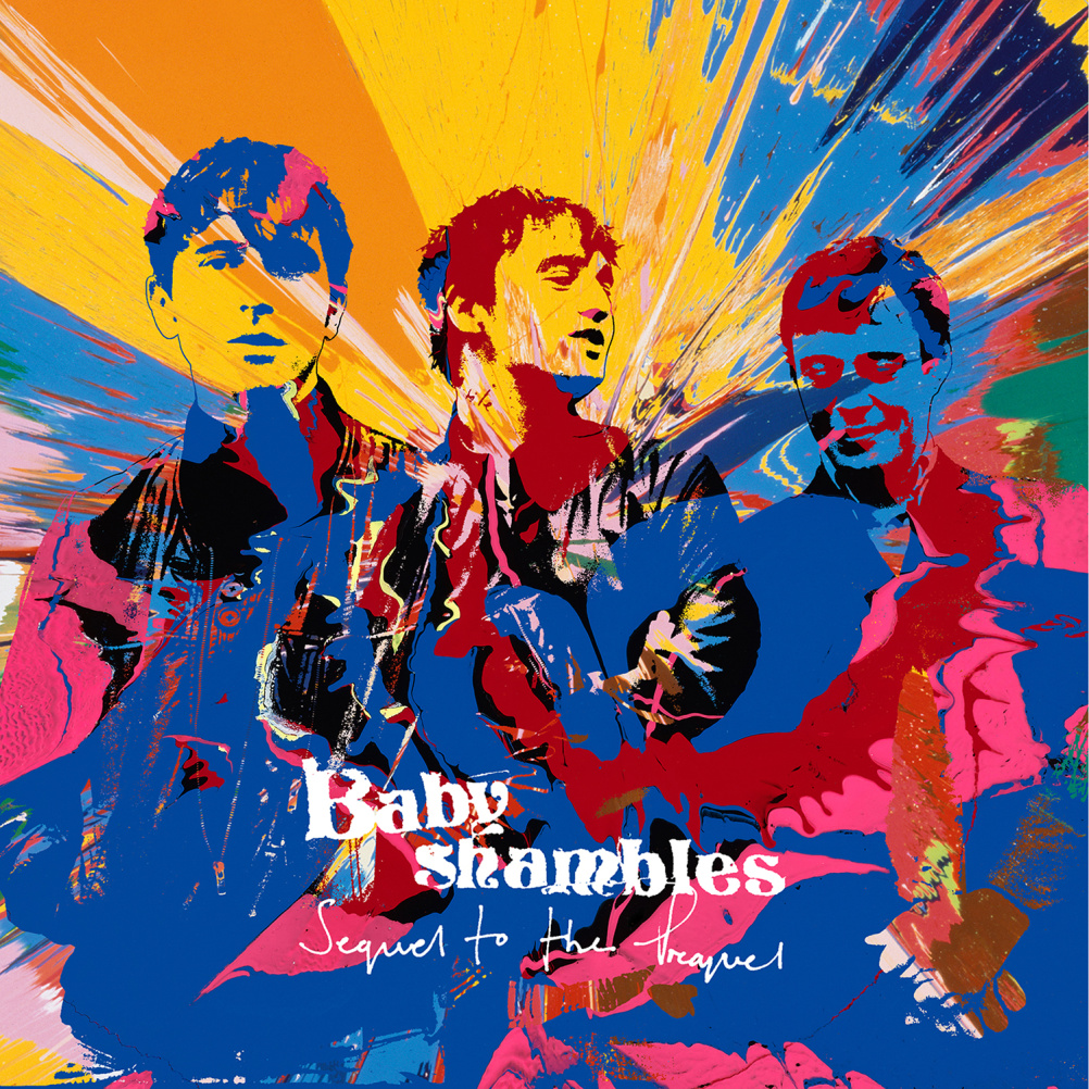 Babyshambles - Sequel to the Prequel - Artwork by Damien Hirst. Photography by Pennie Smith. Design by Paul Kennedy