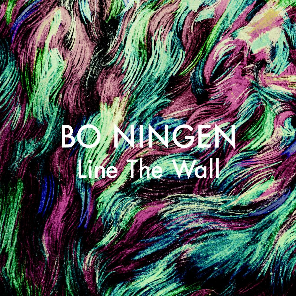 Bo Ningen - Line the Wall - Design by Kohhei Matsuda