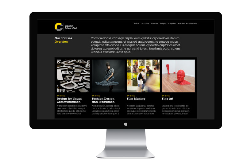 Croydon School of Art website
