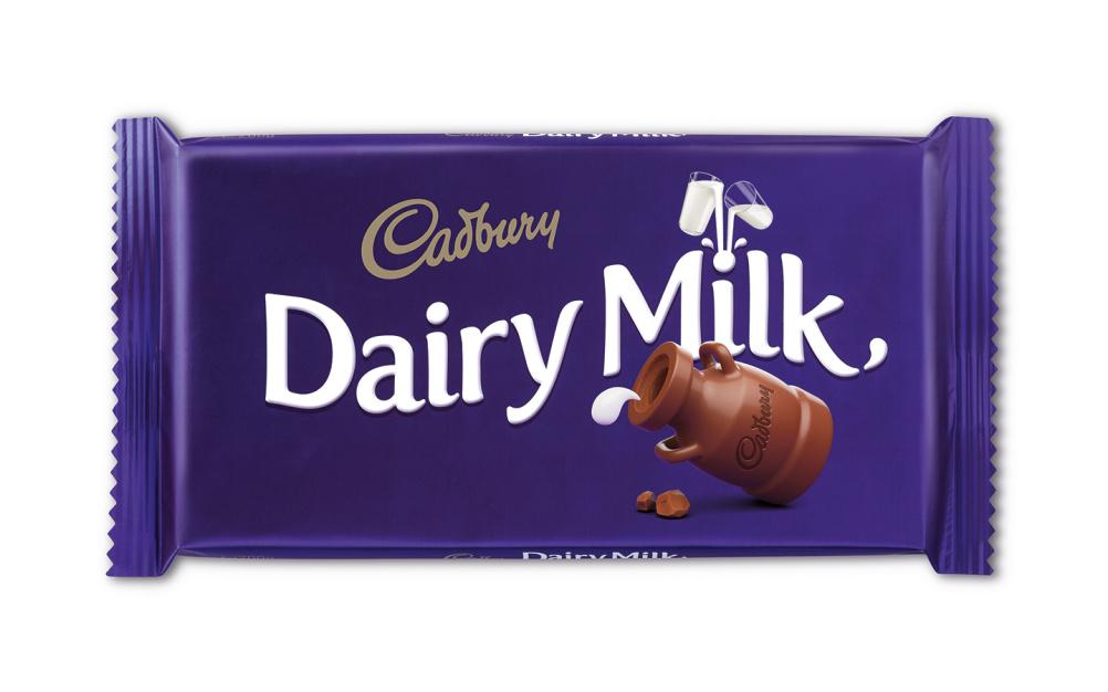 New Dairy Milk packaging