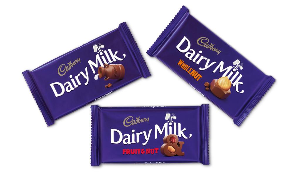 Dairy Milk range