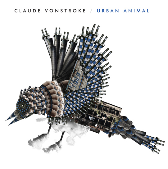 Claude Vonstroke - Urban Animal - Illustration by Matt Goldman with MFG. Layout by Maz Pfiester