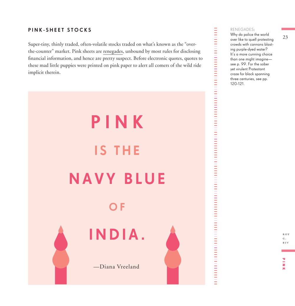 Pink is the Navy Blue of India