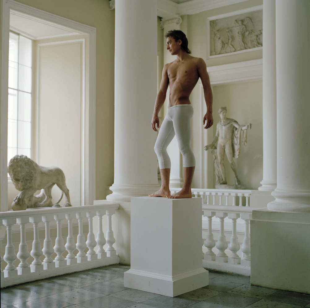Valery Katsuba, Gymnast at the Art Academy Museum (2) St. Petersburg, 2008